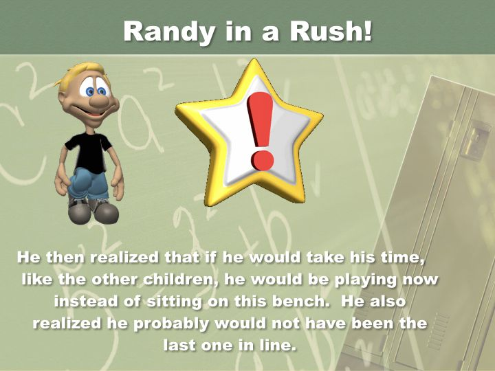 Randy in a  Rush - Revised.020