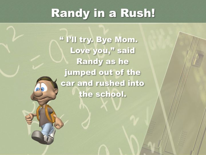Randy in a  Rush - Revised.011